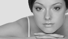 beauty product model