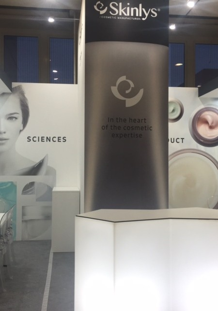 Skinlys booth at Cosmoprof Bologna