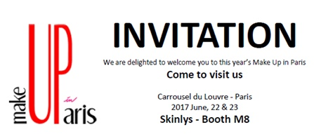Skinlys invitation MakeUp in Paris